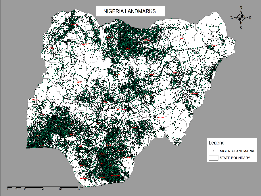 POIs-Road-Network-and-Building-Footprints for-a-portion-of-Ondo-town-overlaid-on-high-resolution-imagery